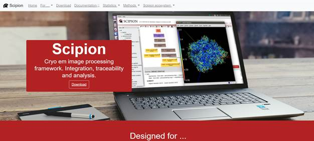 Instruct Course on the development of image processing workflows in streaming and structural data analysis components for Electron Microscopy. Madrid, 2020.